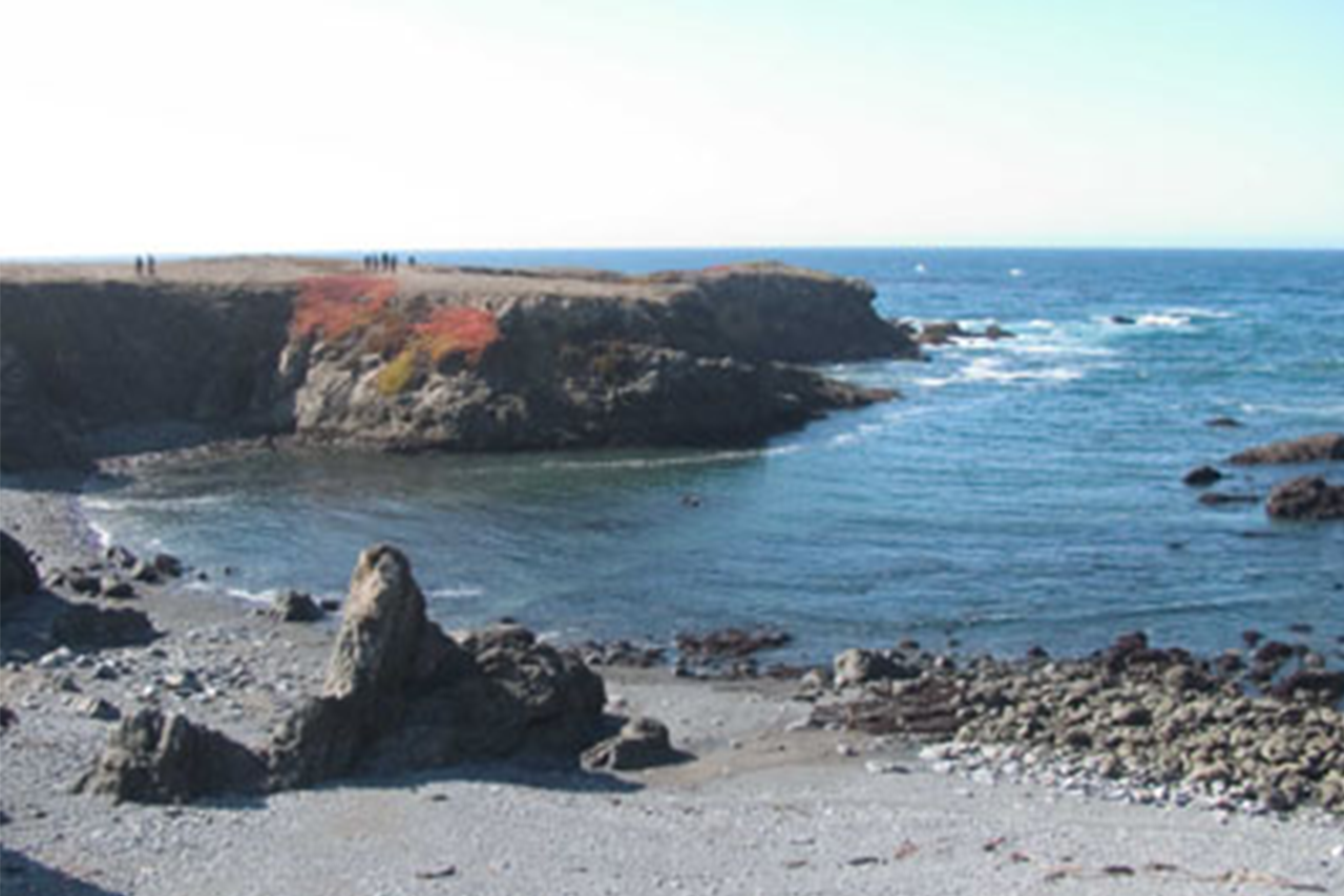 coast trail cliff Photo