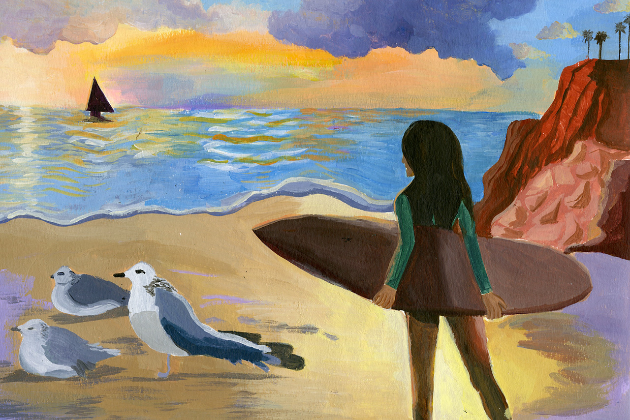 K-12 Students: Enter the California Coastal Art & Poetry Contest